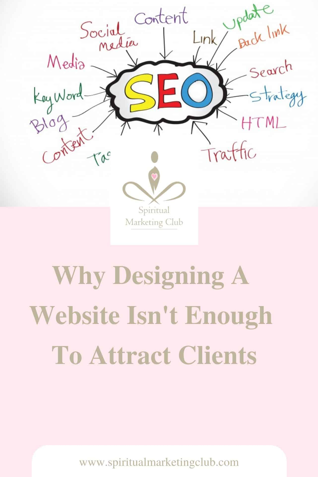 designing a website for your spiritual business
