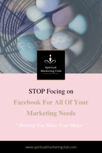 issues around putting all your marketing on facebook