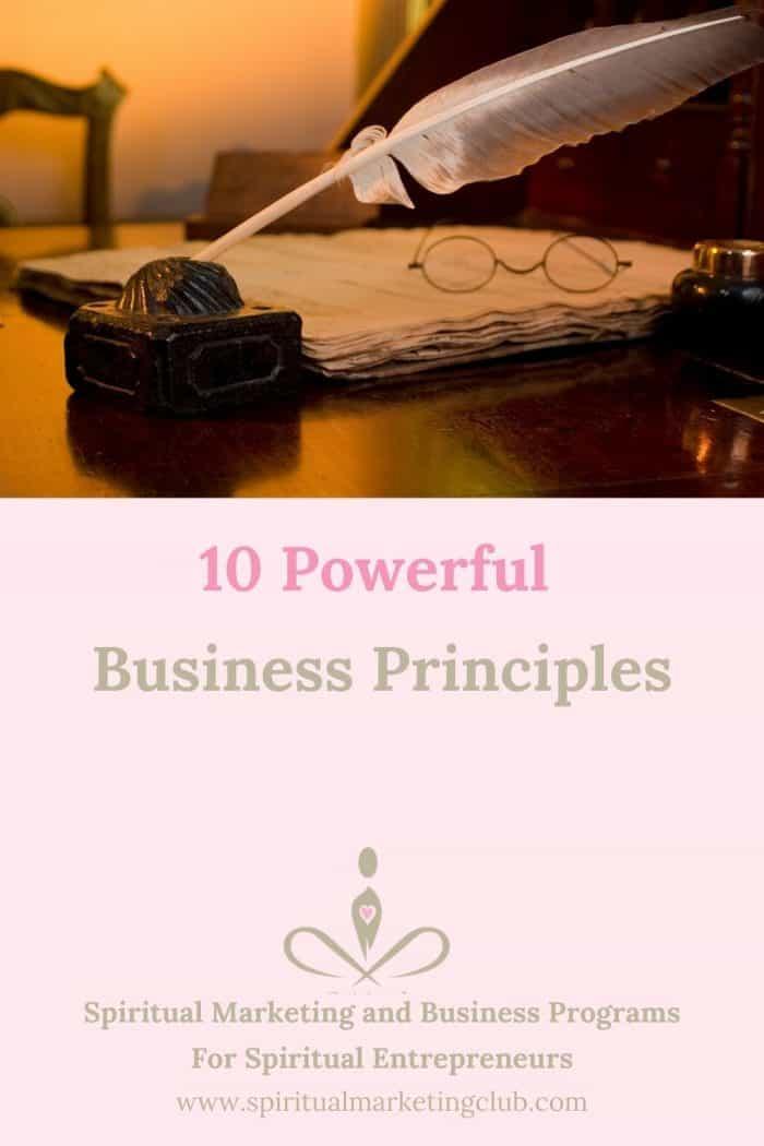 10 Powerful Business Principles Your SBusiness Needs To Grow - Spiritual Marketing Club