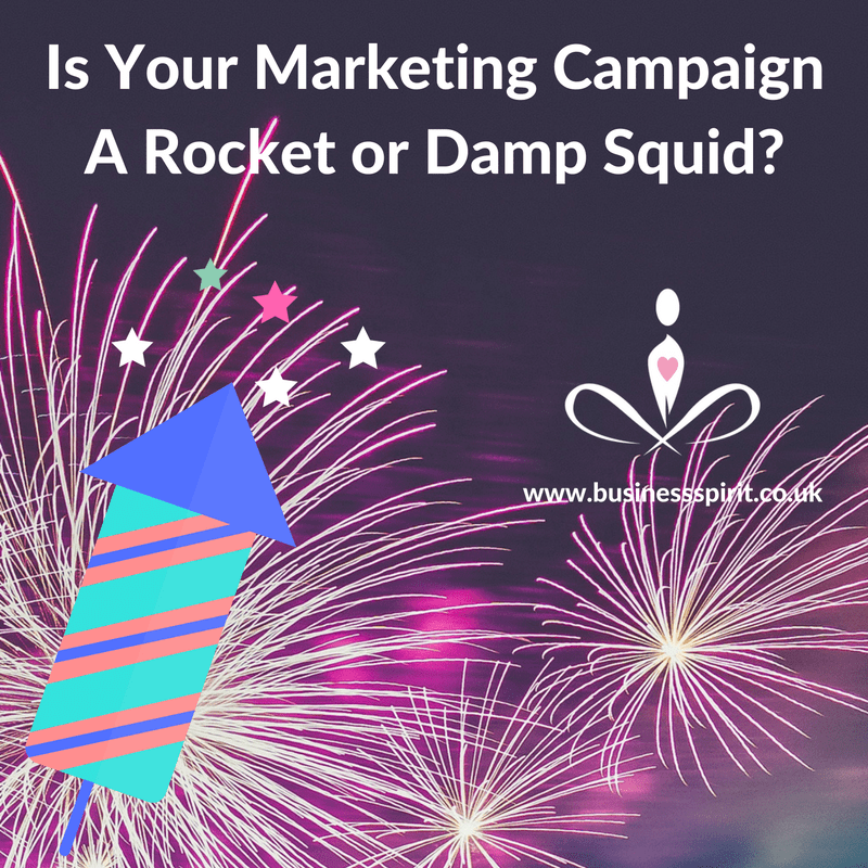 Is Your Marketing Campaign a Rocket or a Damp Squib?