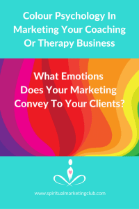 psychology colour marketing