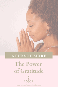 Attract more with the power of gratitude in your business