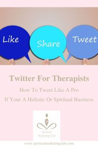 twitter tips for therapists healers coaches spiritual businesses