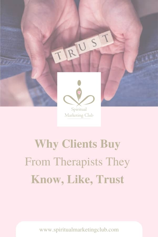 why customers need the know like and trust factor