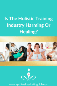 holistic training industry harming or healing
