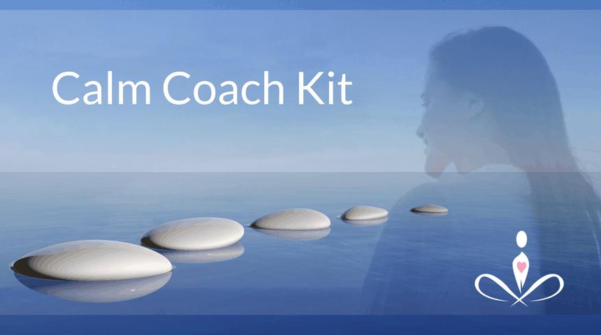 calm coach kit advert