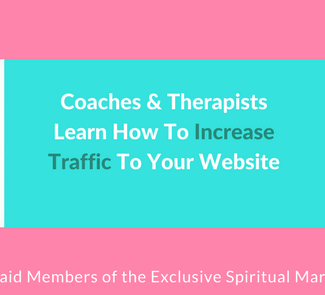 Coaches & TherapistsLearn How To Increase Traffic To Your Website