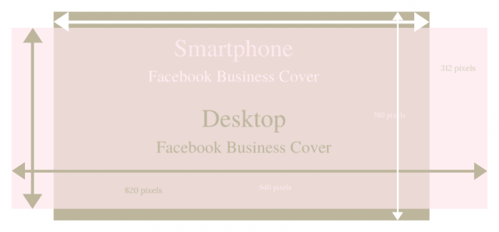 facebook cover design template for desktop and mobile