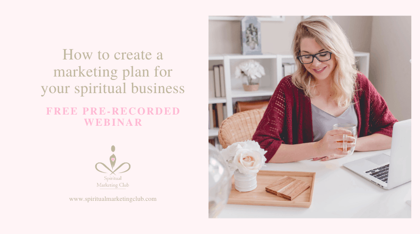 Free Marketing Plan For Healers, Coaches, Therapists