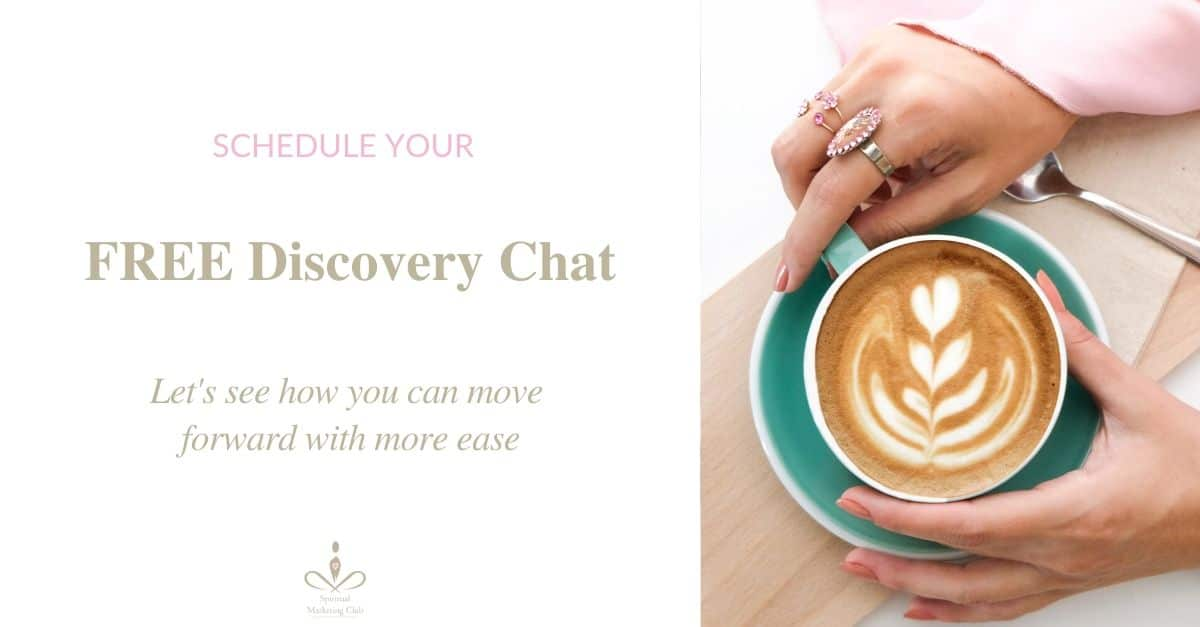 grow your spiritual business discovery chat