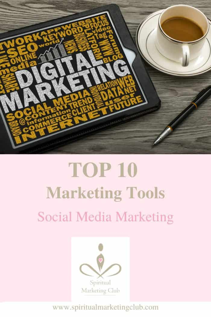 top marketing tools for social media marketing for healers coaches spiritual business owners
