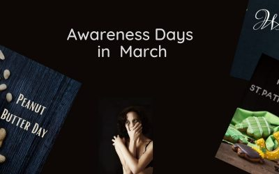 March Awareness Days For Your Social Media