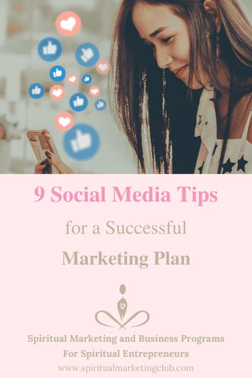Social Media Tips For Spiritual Entrepreneurs